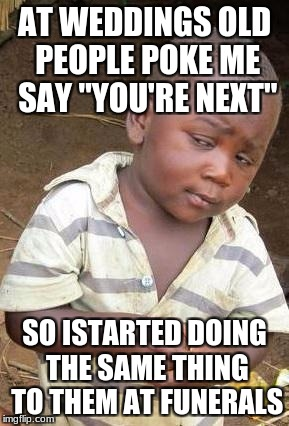 "Skeptical African Kid, Solo | AT WEDDINGS OLD PEOPLE POKE ME SAY ""YOU'RE NEXT"" SO ISTARTED DOING THE SAME THING TO THEM AT FUNERALS 
