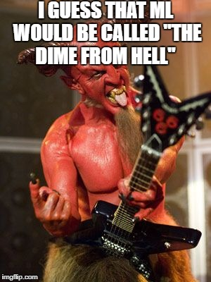 "Devil Playing Washburn DIME ML Guitar | I GUESS THAT ML WOULD BE CALLED ""THE DIME FROM HELL"" 