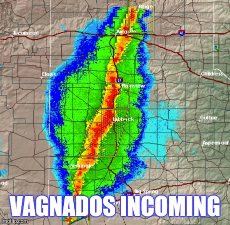 VAGNADOS INCOMING | made w/ Imgflip meme maker