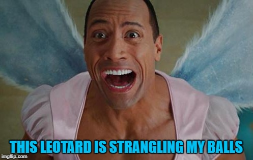 THIS LEOTARD IS STRANGLING MY BALLS | made w/ Imgflip meme maker