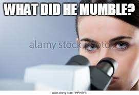 WHAT DID HE MUMBLE? | made w/ Imgflip meme maker