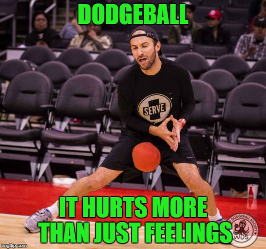Always guard the jewels dude...always guard the jewels! | DODGEBALL IT HURTS MORE THAN JUST FEELINGS | image tagged in dodgeball nut shot,memes,family jewels,funny,keep your guard up,dodgeball | made w/ Imgflip meme maker