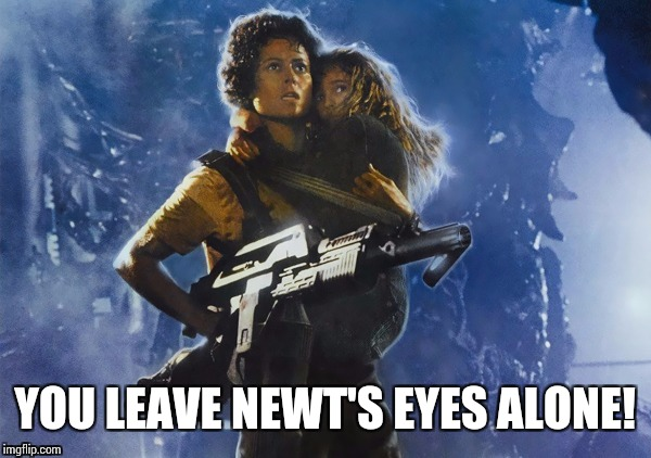 YOU LEAVE NEWT'S EYES ALONE! | made w/ Imgflip meme maker