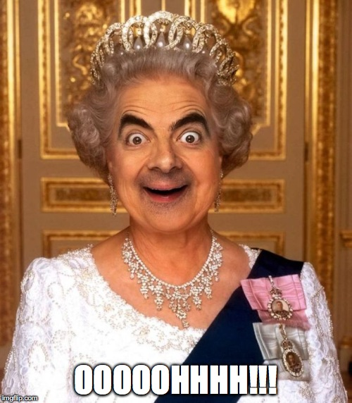 Bean Queen Lizzy | OOOOOHHHH!!! | image tagged in bean queen lizzy | made w/ Imgflip meme maker