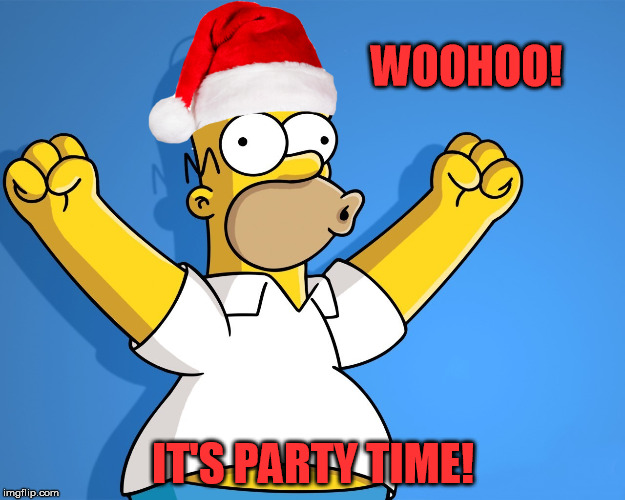 WOOHOO! IT'S PARTY TIME! | made w/ Imgflip meme maker