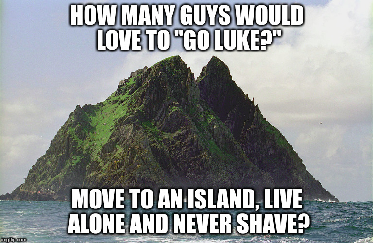 "Goin' Luke | HOW MANY GUYS WOULD LOVE TO ""GO LUKE?"" MOVE TO AN ISLAND, LIVE ALONE AND NEVER SHAVE? 