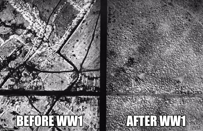 The true effect of war. | BEFORE WW1 AFTER WW1 | image tagged in memes,ww1,before and after | made w/ Imgflip meme maker