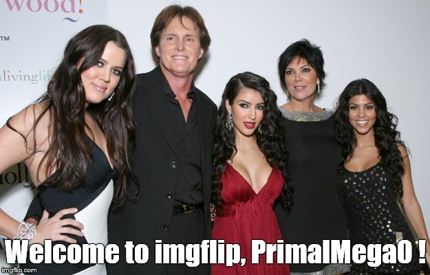 Jenner Christmas | Welcome to imgflip, PrimalMega0 ! | image tagged in jenner christmas | made w/ Imgflip meme maker