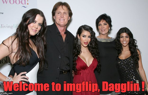 Jenner Christmas | Welcome to imgflip, Dagglin ! | image tagged in jenner christmas | made w/ Imgflip meme maker