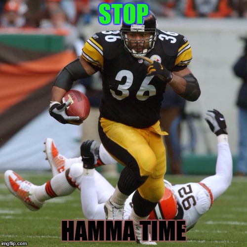 Football  | STOP HAMMA TIME | image tagged in football | made w/ Imgflip meme maker