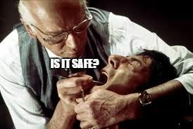 IS IT SAFE? | made w/ Imgflip meme maker