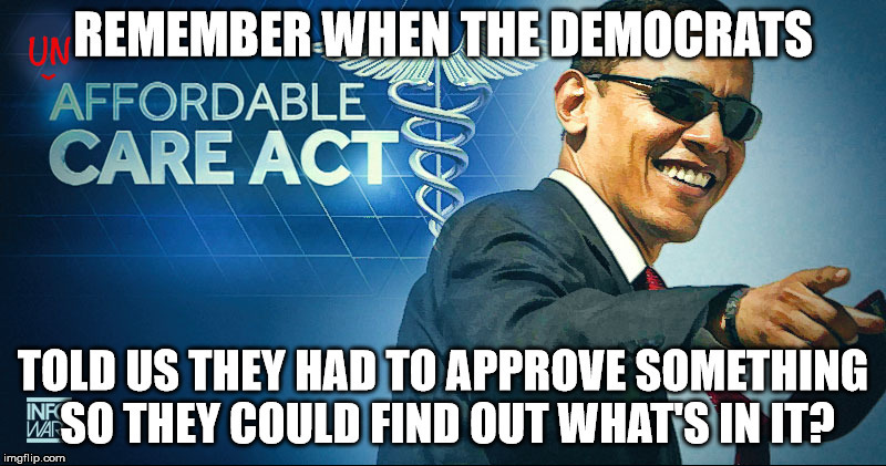 image tagged in obamacare,democrats,liberal hypocrisy,trump 2020 | made w/ Imgflip meme maker