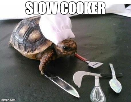slow cooker | SLOW COOKER | image tagged in cooking | made w/ Imgflip meme maker
