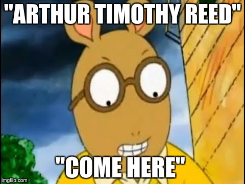"""ARTHUR TIMOTHY REED"" ""COME HERE"" 