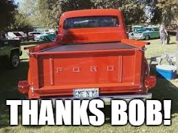 THANKS BOB! | made w/ Imgflip meme maker