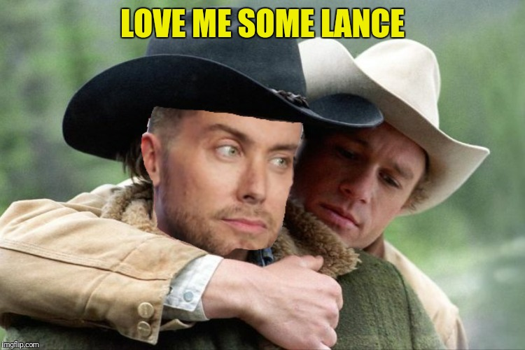 LOVE ME SOME LANCE | made w/ Imgflip meme maker