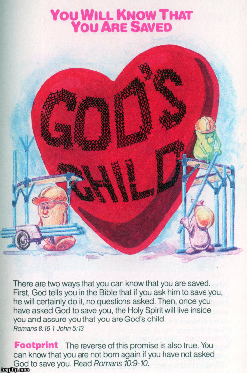 God's Child | image tagged in message bible,gods child,romans 8 16,1 john 5 13,romans 10 9 | made w/ Imgflip meme maker