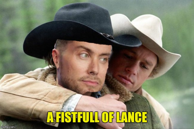 A FISTFULL OF LANCE | made w/ Imgflip meme maker