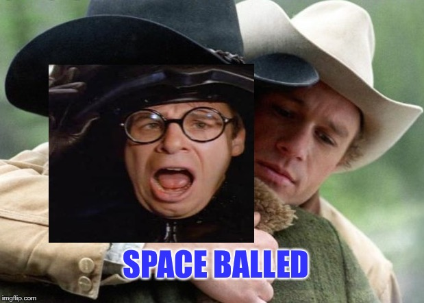 SPACE BALLED | made w/ Imgflip meme maker