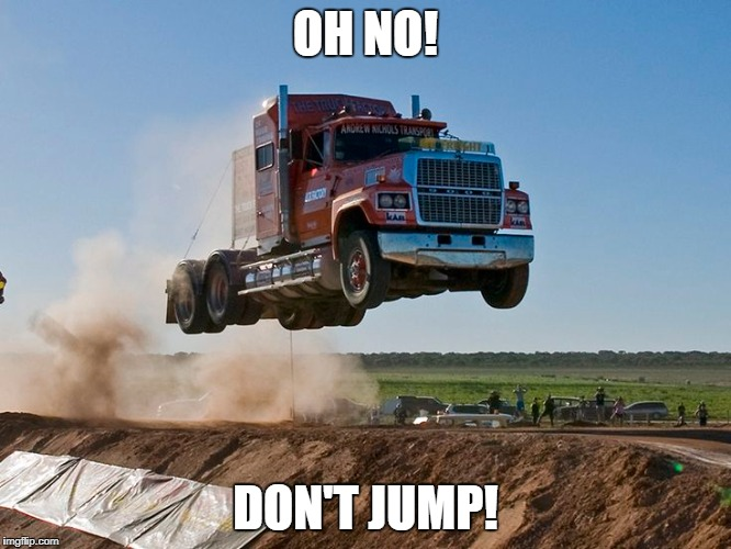 OH NO! DON'T JUMP! | made w/ Imgflip meme maker