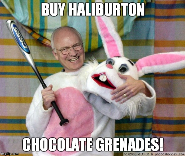 BUY HALIBURTON CHOCOLATE GRENADES! | made w/ Imgflip meme maker