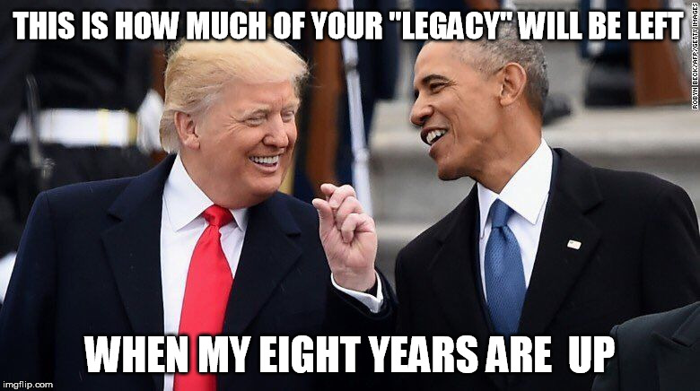 "THIS IS HOW MUCH OF YOUR ""LEGACY"" WILL BE LEFT WHEN MY EIGHT YEARS ARE  UP 