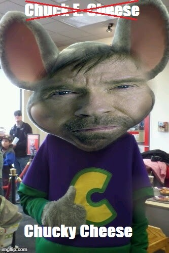 Chucky Cheese | image tagged in chuck norris,memes,chuck e cheese | made w/ Imgflip meme maker