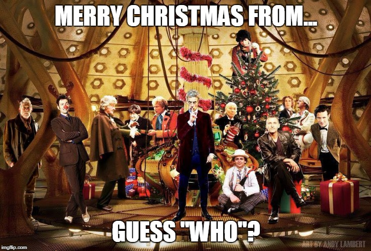 "Guess Who? | MERRY CHRISTMAS FROM... GUESS ""WHO""? 