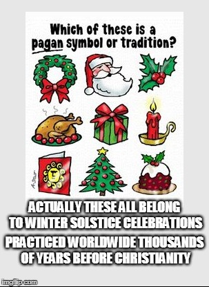 "Dislodging the ""Christ"" from Saturnalia... 