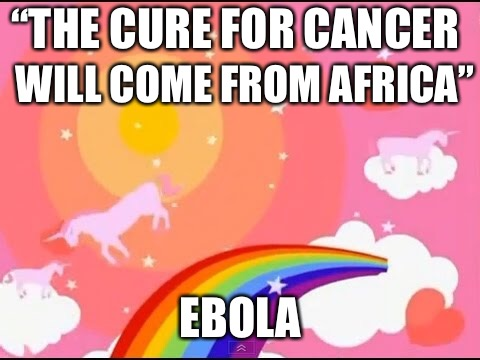 "Smothered Hope | ""THE CURE FOR CANCER WILL COME FROM AFRICA"" EBOLA 