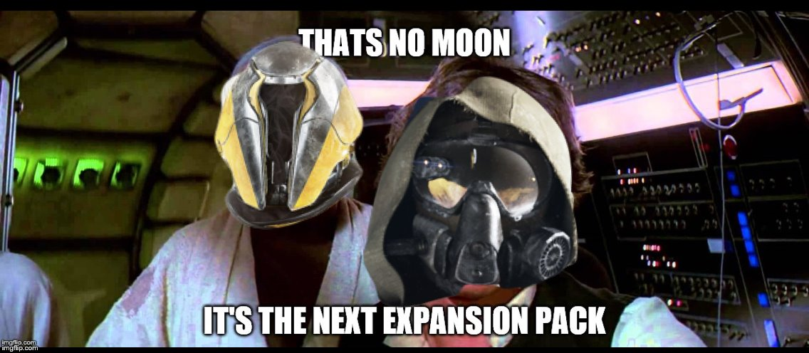 Destiny DLCs | image tagged in destiny,destiny 2,star wars,star wars battlefront | made w/ Imgflip meme maker