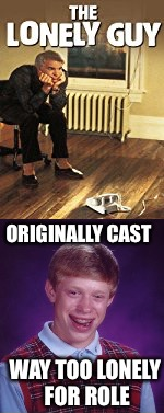 "Saw this at a premier, won ""The Lonely Guy"" boxer shorts.  True story. 