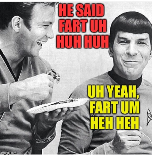 Wait - what?! | . | image tagged in star trek | made w/ Imgflip meme maker