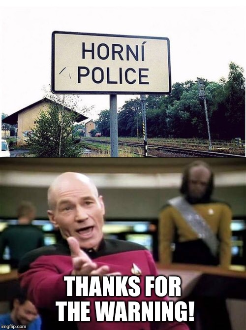 THANKS FOR THE WARNING! | image tagged in memes,picard wtf,police,fuck the police | made w/ Imgflip meme maker