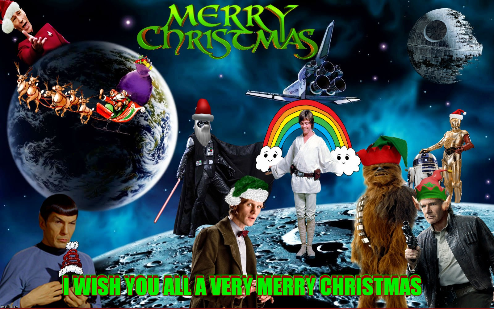 To all my Imgflip friends may this be the best Christmas for you and your families ever! | I WISH YOU ALL A VERY MERRY CHRISTMAS I WISH YOU ALL A VERY MERRY CHRISTMAS | image tagged in christmas,imgflip users,i love you,people,thanks,for everything | made w/ Imgflip meme maker