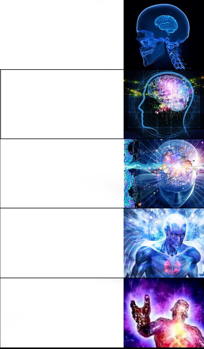 expanding brain 5 meme template