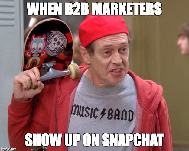 b2b social media marketing 2018