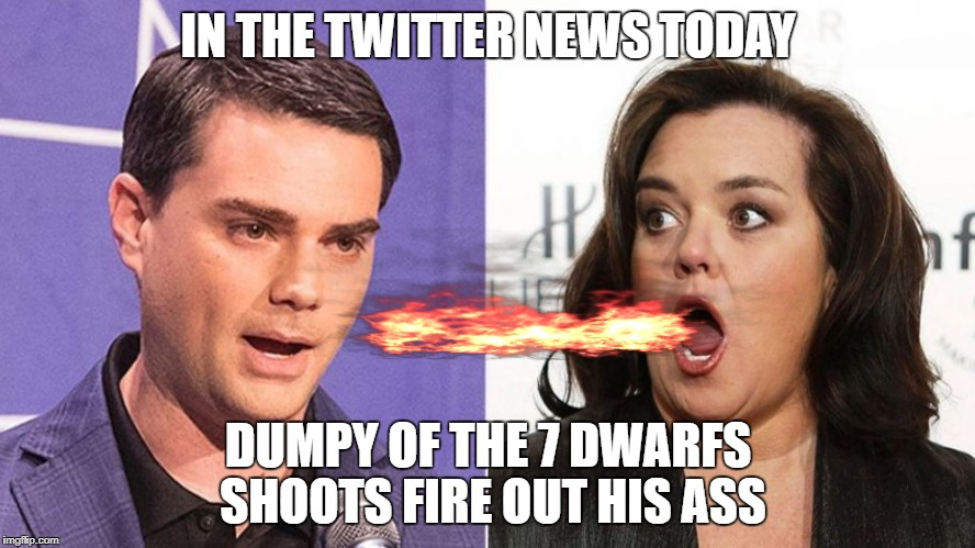 twitter one sided rules FOR Rosie the dwarf | IN THE TWITTER NEWS TODAY DUMPY OF THE 7 DWARFS SHOOTS FIRE OUT HIS ASS | image tagged in twitter,twisted,sucks,memes,funny dogs | made w/ Imgflip meme maker