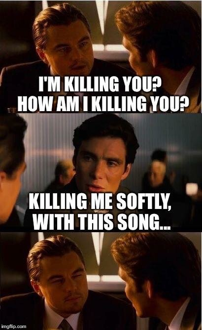 Killing it | A | image tagged in deception | made w/ Imgflip meme maker