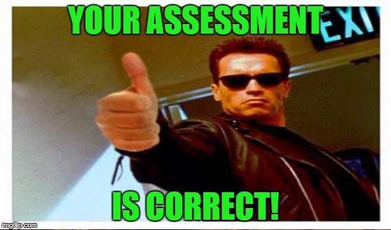 YOUR ASSESSMENT IS CORRECT! | made w/ Imgflip meme maker