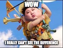 king Jon un the boy scout | WOW I REALLY CAN'T SEE THE DIFFERENCE | image tagged in north korea,boy scouts | made w/ Imgflip meme maker