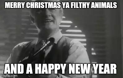 Home Alone Merry Christmas | MERRY CHRISTMAS YA FILTHY ANIMALS AND A HAPPY NEW YEAR | image tagged in home alone merry christmas | made w/ Imgflip meme maker