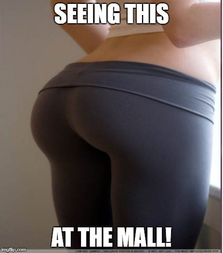 SEEING THIS AT THE MALL! | made w/ Imgflip meme maker