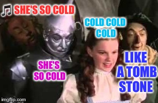 SHE'S SO COLD  | made w/ Imgflip meme maker
