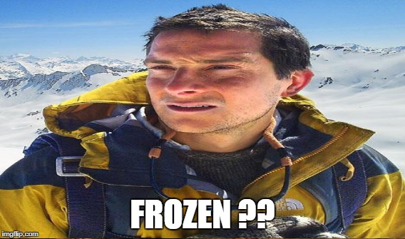 FROZEN ?? | made w/ Imgflip meme maker