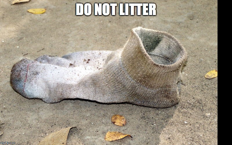 DO NOT LITTER | made w/ Imgflip meme maker