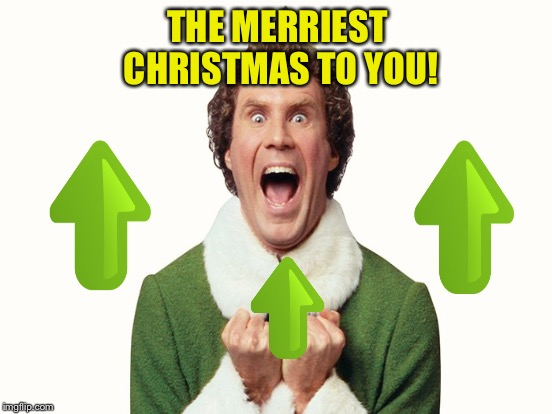 THE MERRIEST CHRISTMAS TO YOU! | made w/ Imgflip meme maker