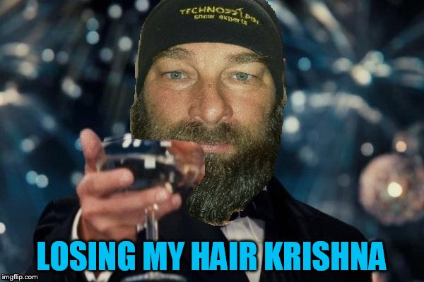 LOSING MY HAIR KRISHNA | made w/ Imgflip meme maker