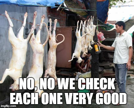 NO, NO WE CHECK EACH ONE VERY GOOD | made w/ Imgflip meme maker