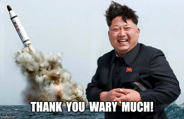 THANK  YOU  WARY  MUCH! | made w/ Imgflip meme maker